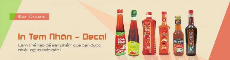 In decal dán giá rẻ tại Hà Nội