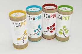 mẫu hộp trà thông thường