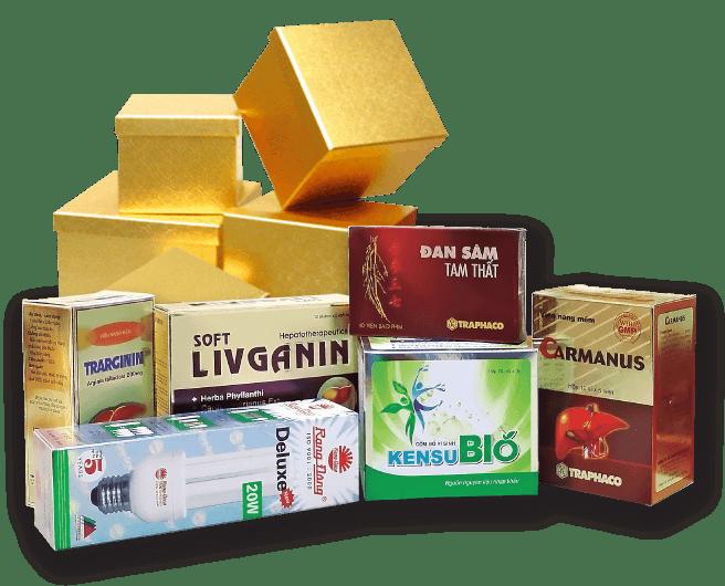 In hộp giấy bao bì cho ngành dược