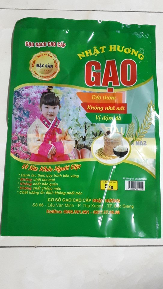 in bao bi tui nilon dung gao tai Ha Noi gia re