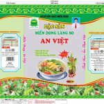 In Bao bì thực phẩm Miến dong