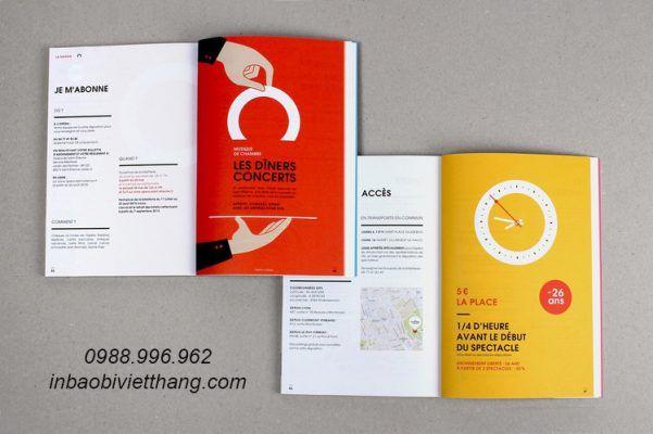 in catalogue tại Hà Nội giá rẻ