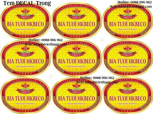 In decal trong giá rẻ uy tín